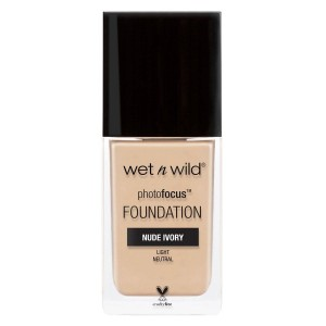 Wet'n Wild Photo Focus Foundation, Nude Ivory (30 ml)