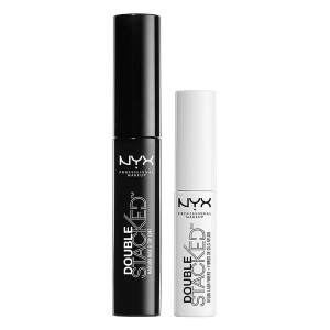 NYX Professional Makeup Double Stacked Fiber Mascara, DSM01