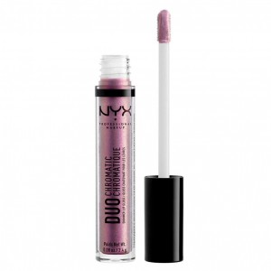 NYX Professional Makeup Duo Chromatic Lip Gloss, Gypsy Dreams - Błyszczyk