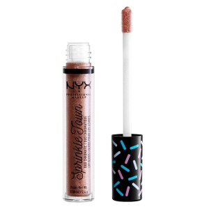 NYX Professional Makeup Sprinkle Town Duo Chromatic Lip Gloss, 02 Pot Of Gold (2,4 g)