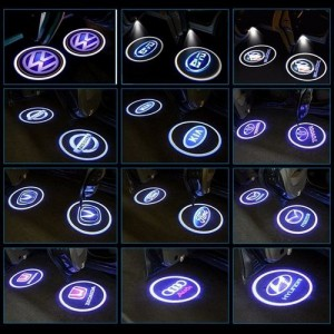 Logo MERCEDES BENZ - LED - Laser 3D