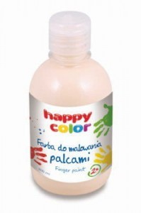 HAPPY COLOR FARBA DO MALOWANIA PALCAMI 300ML RÓŻ - Finger Paint