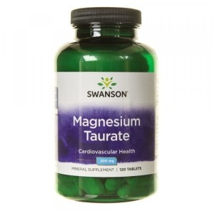 SWANSON TAURYNIAN MAGNEZU 100MG, 120 TAB - Suplement Diety