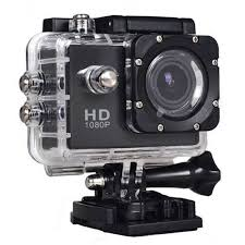 Action Camera 4K - Ultra HD - 30M Waterproof - czarna