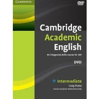 Cambridge Academic English B1+ Intermediate DVD