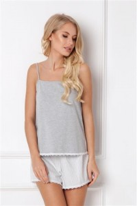 Pizama Adelide Short Grey