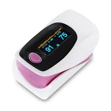 Pulsometr  - Digital Finger Pulse - Oximeter - fioletowy