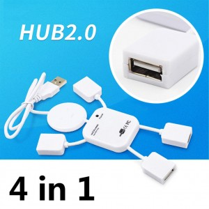 4 portowy Hub USB 2.0 High Speed